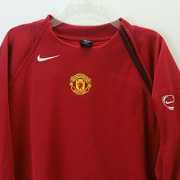 big sale e908c 53aa3 NIKE MANCHESTER UNITED TOTAL 90 SWEATSHIRT